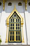 window thai temple