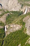 Vernal & Nevada falls