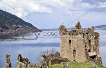 Castle Grant at Loch Ness in Scotland