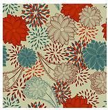 seamless floral vintage background
