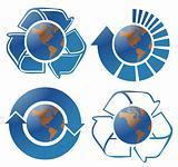 Ecology globes