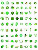 set of 72 icons and design-elements