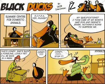 Black Ducks Comics episode 51