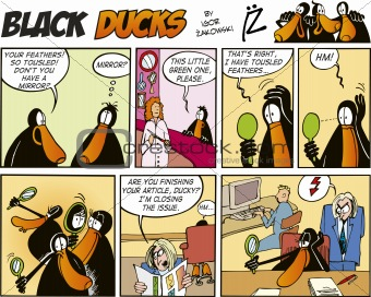 Black Ducks Comics episode 57