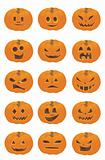 Halloween Pumpkin Smileys