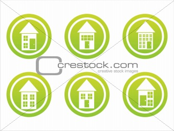 green buildings signs