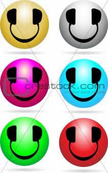 Smiley DJ Neon