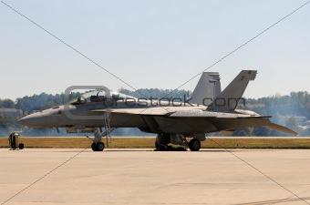 Modern Navy fighter