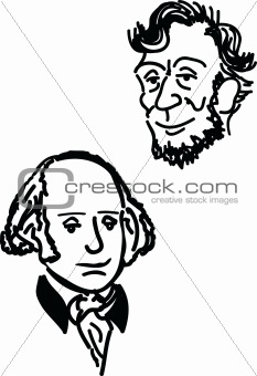 Abe and George