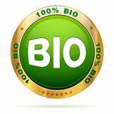 100 percent bio badge