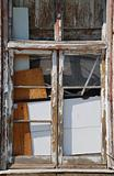 Abandoned window building