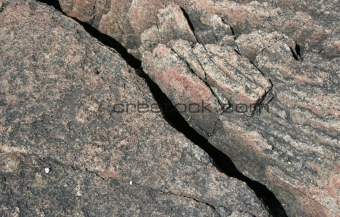Background texture of raw granite