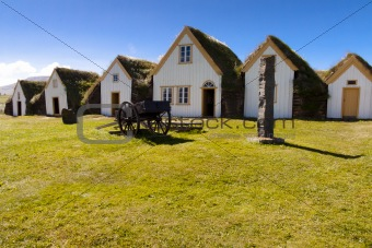 Old icelandic farm - Glaumber