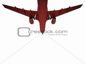 sinking aircraft landing
