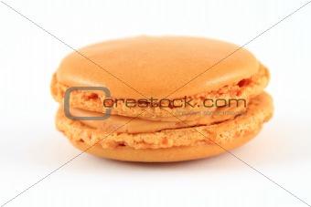 Single french macaron