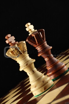 Two Kings on the chessboard.