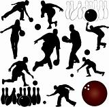 bowling people