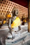 Ancient Buddha sculpture