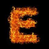 Fire letter E