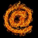 Fire sign mail
