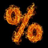 Fire sign Percent