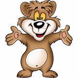 Sweet happy bear