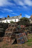 Lobster pots at Craster