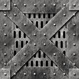 Steel cage door