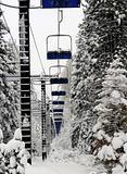Abundant ski lift