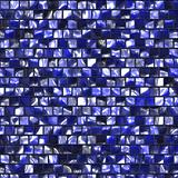 Artistic dark blue tile