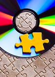 Cds on jigsaws