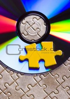 Cds on jigsaws
