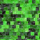 Green colored tiles