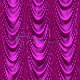 Plush Pink Theater Curtains