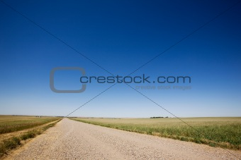 Prairie Gravel Road