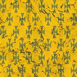 Weathered yellow wallpaper
