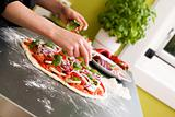 Pizza Making Detail