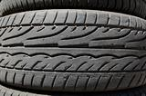 rubber tires detail