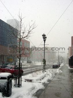 City Snow Storm