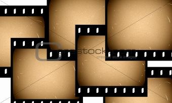 Old film slides