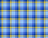 Blue colored tartan