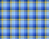 Blue colored tartan