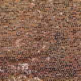 Grungy brown brick wall