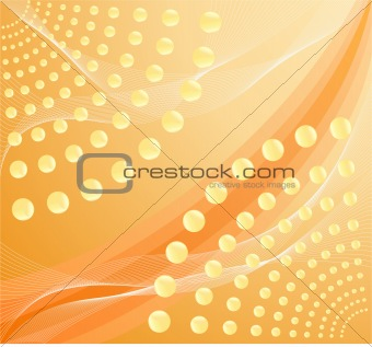 Abstract artistic  background - decor design illustration