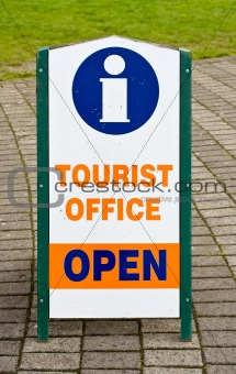 Tourist Office Information Sign