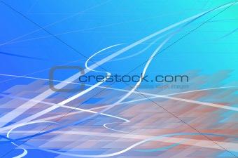 Aquamarine waves
