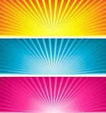 Coloured starbursts