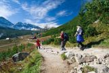 Trekking in Tatra mountains