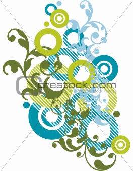 abstract ornamental design