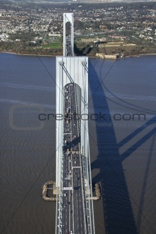Verrazano-Narrow's Bridge.